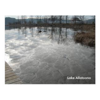 Lake Allatoona Postcard