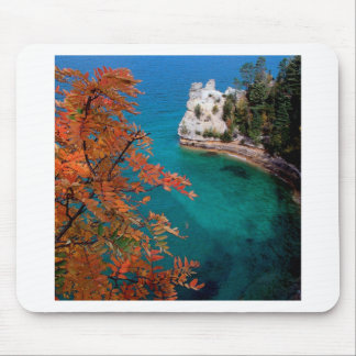 Lake Pictured Rocks Shore Superior Michigan Mouse Pad