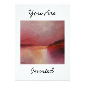 Lakeland Dawn  1 You Are Invited 13 Cm X 18 Cm Invitation Card