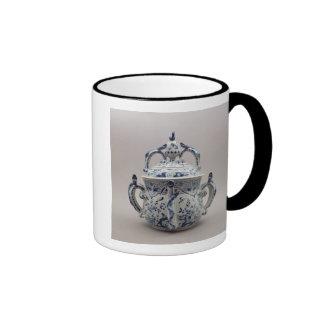 Lambeth Delftware posset pot, blue and white Ringer Mug