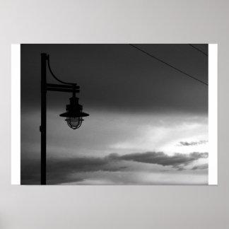 Lamp Post Poster