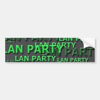 Lan Party Logo Bumper Sticker