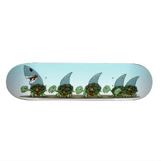 Land Sharks Custom Skate Board