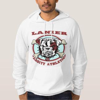 Lanier Mens White Hoodie