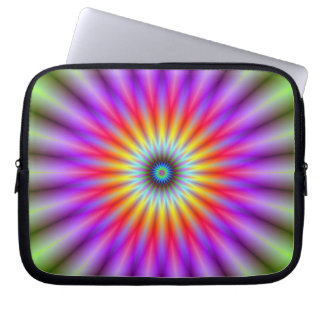 Laptop Sleeve   Wheel of Colour