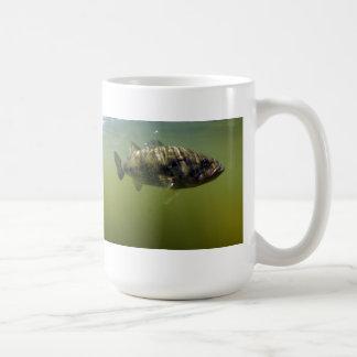 Large Mouth Bass Fish Coffee Mug