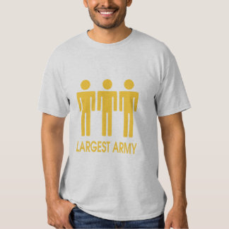 Largest Army Tee Shirt