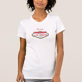 Las Vegas Bride Ladies Camisole Tee Shirts