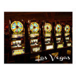 Las Vegas, Nevada Casino Slot Machines Postcard