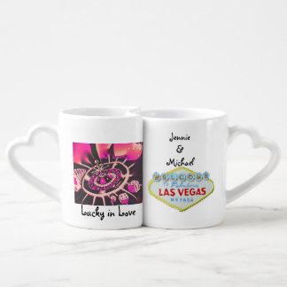 Las Vegas Wedding Souvenir Lovers Mug