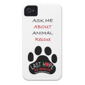 Last Hope K9 Rescue iPhone 4 Animal Rescue iPhone 4 Covers