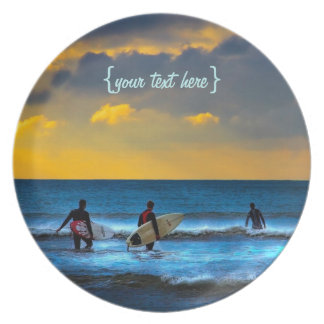 Last Surf Of The Day Party Plate