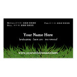 Lawn Care Green Grass Pack Of Standard Business Cards