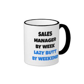 Lazy Sales Manager Joke Ringer Mug