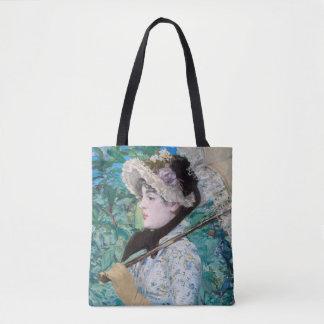 Le Printemps Édouard Manet Impressionist Painting Tote Bag