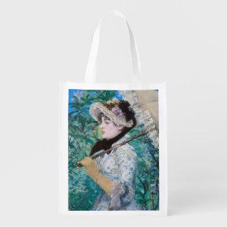 Le Printemps Manet Impressionist Art Painting