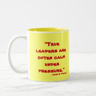 Leadership Two-Tone Mug