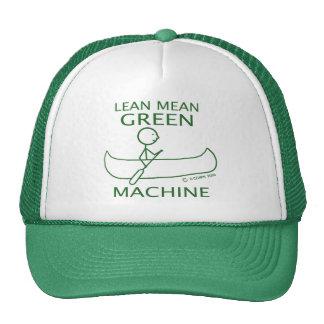 Lean Mean Green Machine Canoe Cap