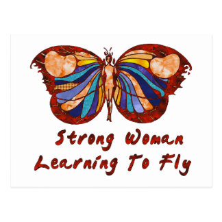 Learning To Fly Postcard