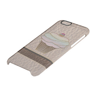 Leather-Look Baking Soft Clear iPhone 6/6S Case
