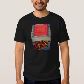 Leaves and Door T Shirts