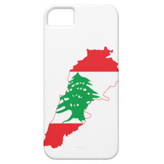 Lebanon Flag Map iPhone 5 Covers