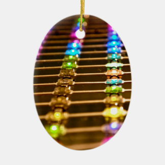 LED Abstraction Ceramic Oval Decoration