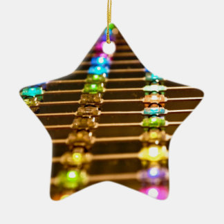 LED Abstraction Ceramic Star Decoration