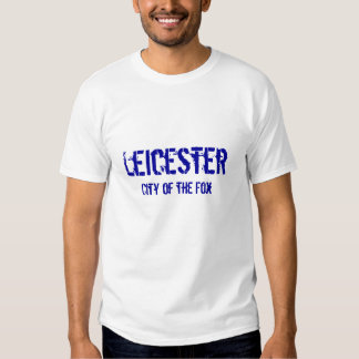 Leicester, City of the Fox Tee Shirts