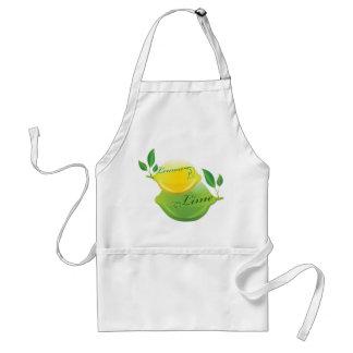 Lemon and Lime Standard Apron