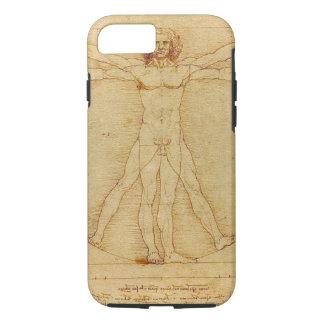 Leonardo Da Vinci Vitruvian Man Anatomy iPhone 7 Case