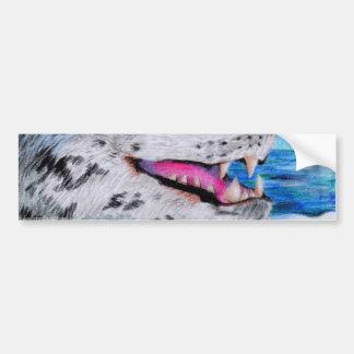 Leopard Seal Bumper Sticker