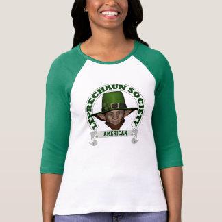 Leprechaun society St Patricks day T Shirts