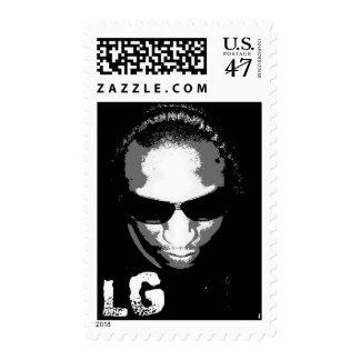 Les Gimix B Postage Stamp