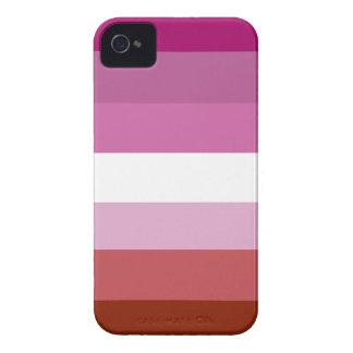 Lesbian pride flag iPhone 4 case