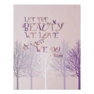 Let the Beauty Poster