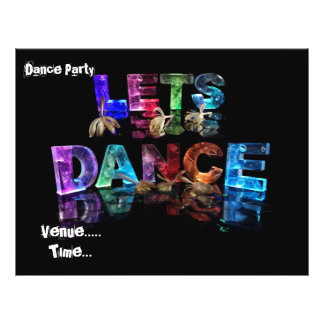 Lets Dance 21.5 Cm X 28 Cm Flyer