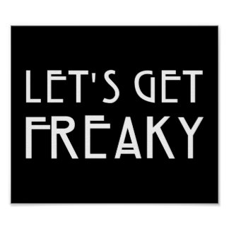 Let's Get Freaky Poster