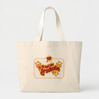 Lets Hail the Graduate Jumbo Tote Bag