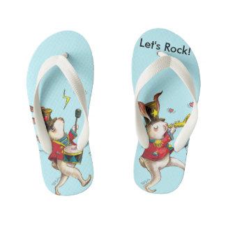 Let's Rock! Flip Flops