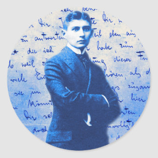 Letter From Kafka Round Sticker