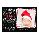Lettered Christmas Collection 13 Cm X 18 Cm Invitation Card