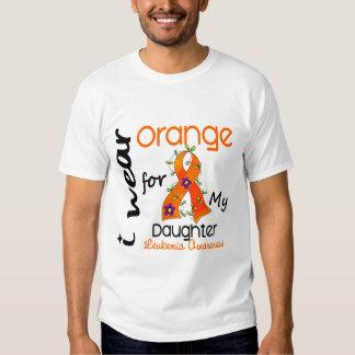 Leukemia I Wear Orange For My Daughter 43 Tees