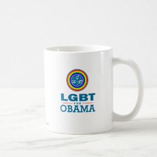 LGBT for OBAMA Basic White Mug