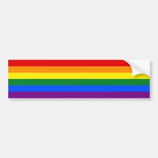 LGBT Gay Pride Rainbow Flag Stripe Bumper Sticker