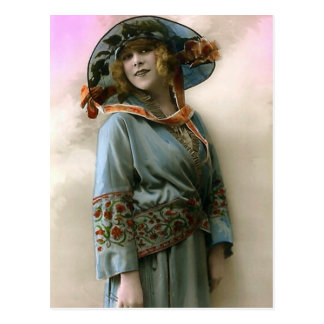 Liberated Woman Postcard