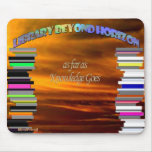 Library Beyond Horizon Mouse Pad