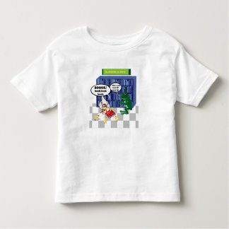 Library book chook joke tees