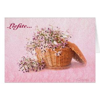 Liefste Groete-Kaartjie Greeting Card