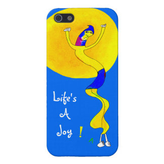 Life's A Joy, Squiggly Line Guy Cover For iPhone 5/5S